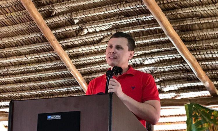 DCM Speaking to advocates against HIV/AIDS
