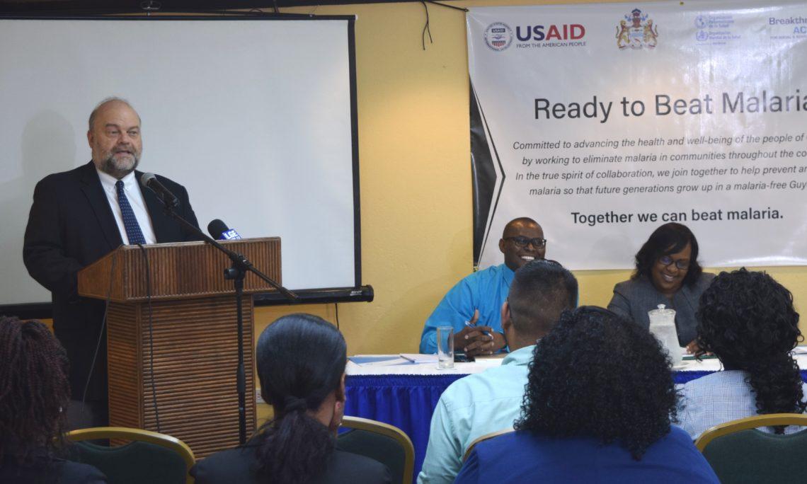 Ambassador Holloway Deliver Remarks