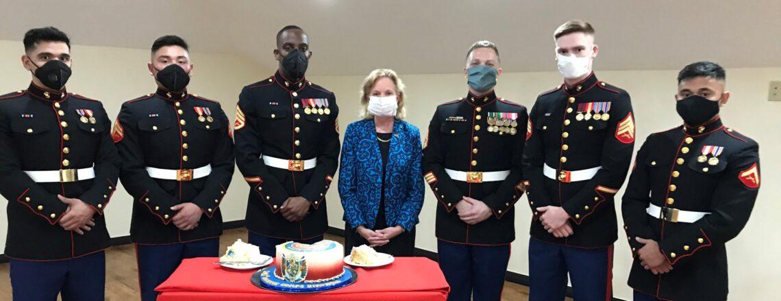 Embassy Marks 245th Birthday of the U.S. Marine Corps