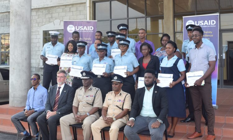 Participants of the Social Crime Prevention Training