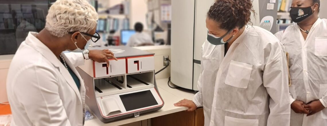 U.S. Donates BioFire COVID-19 Rapid Diagnostic Machine to Ministry of Health