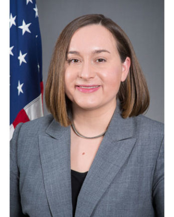 Photo of Charge d'Affaires Stephanie Bowers
