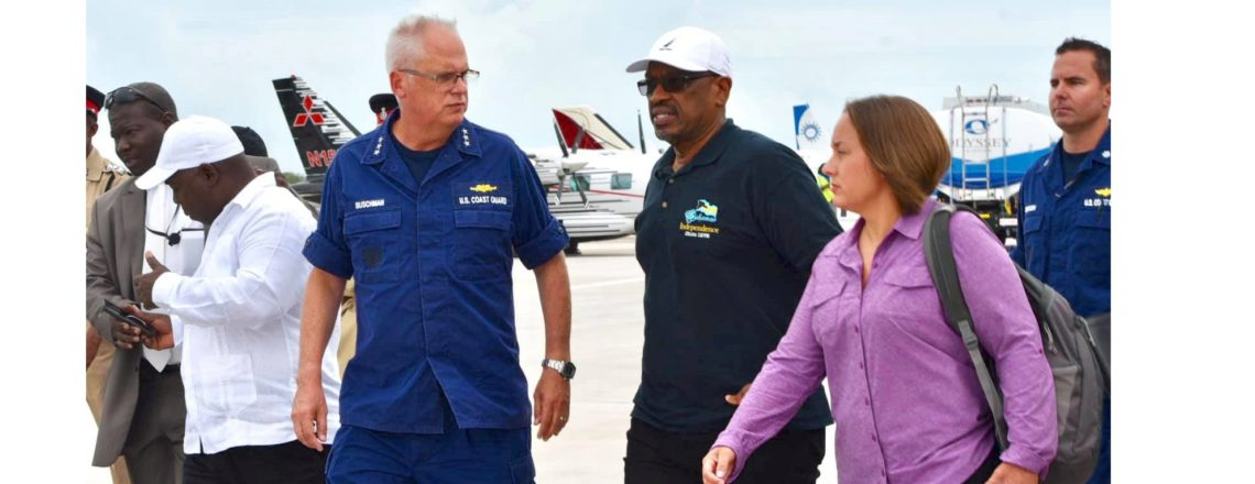 U.S. Mission Does First Overflight of Abaco with Prime Minister Minnis