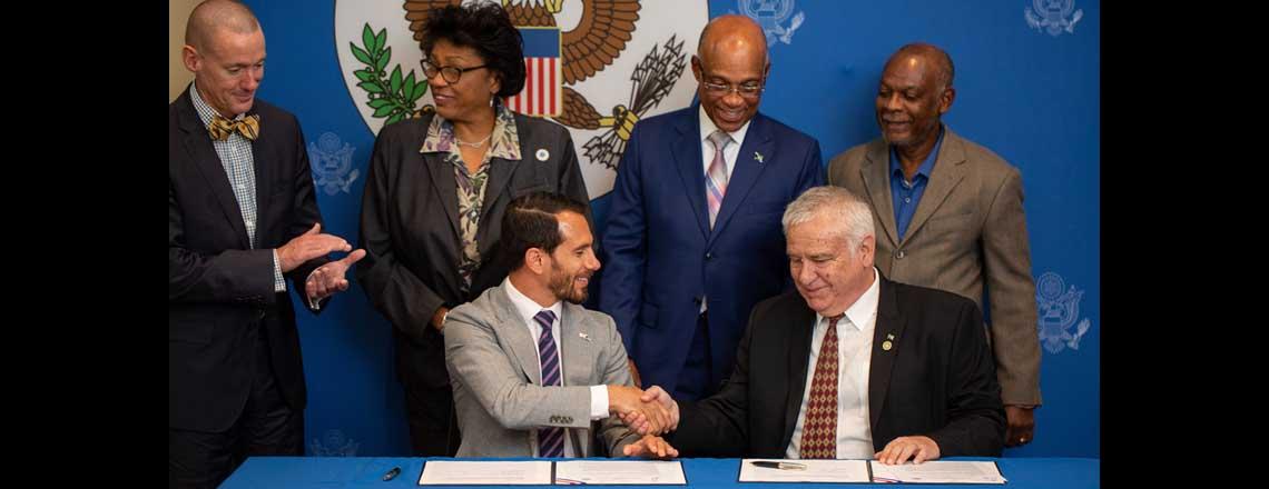 U.S. Embassy and BTVI Sign MOU, Establish EducationUSA Advising Center