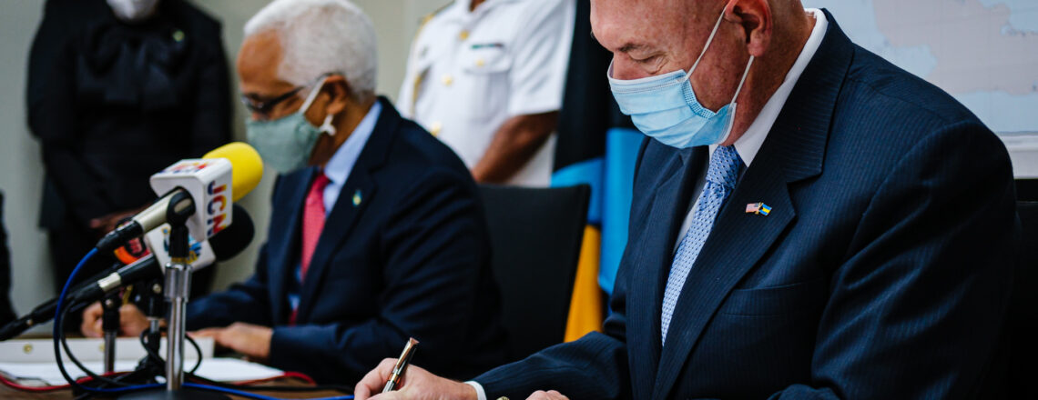 US and Bahamas Sign Updated Search and Rescue Agreement