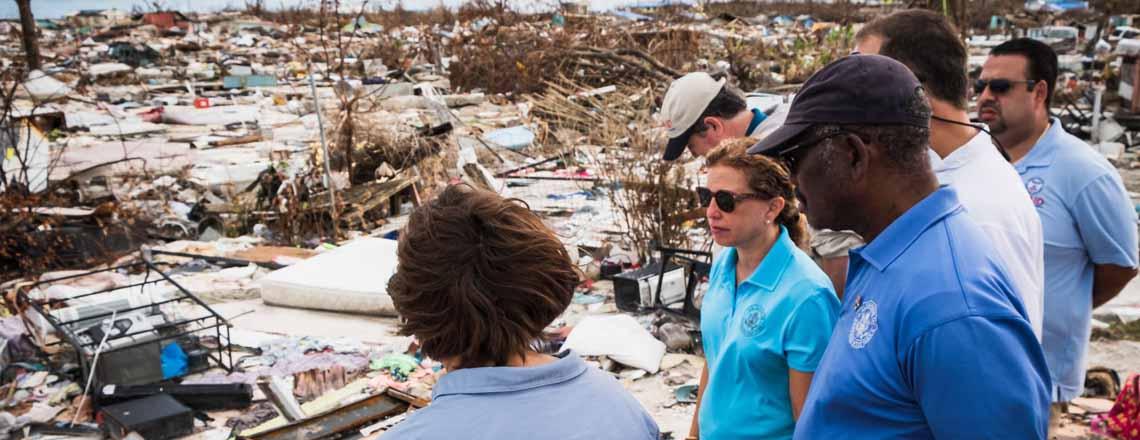 U.S. Pledges Additional $7.5 Million for Dorian Relief Efforts during High Level Visit