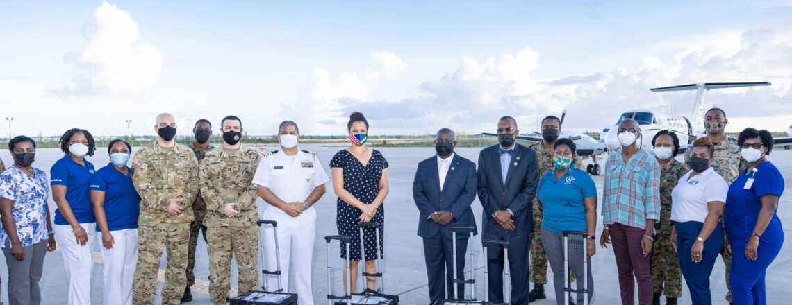 U.S. Helps The Bahamas Distribute More COVID-19 Vaccines to Family Islands