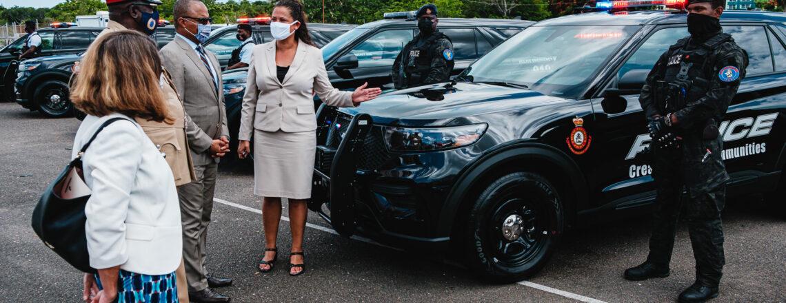 U.S. Donates $1.1 Million-Worth of Police Vehicles to RBPF