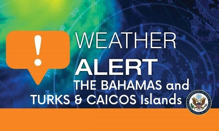 Weather Alert - Bahamas TCI