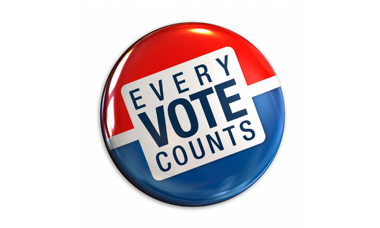 Every vote counts (State Dept)