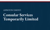 Consular Services Suspended – WEB