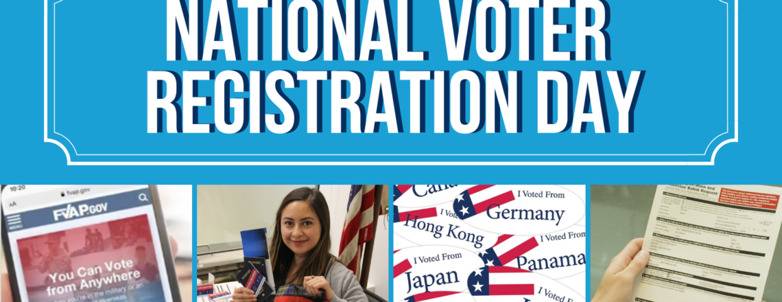 Register and Request Absentee Ballots for Upcoming Congressional Elections