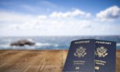 Passport, USA, Travel.