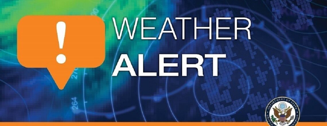 Weather Alert – Hurricane Sam