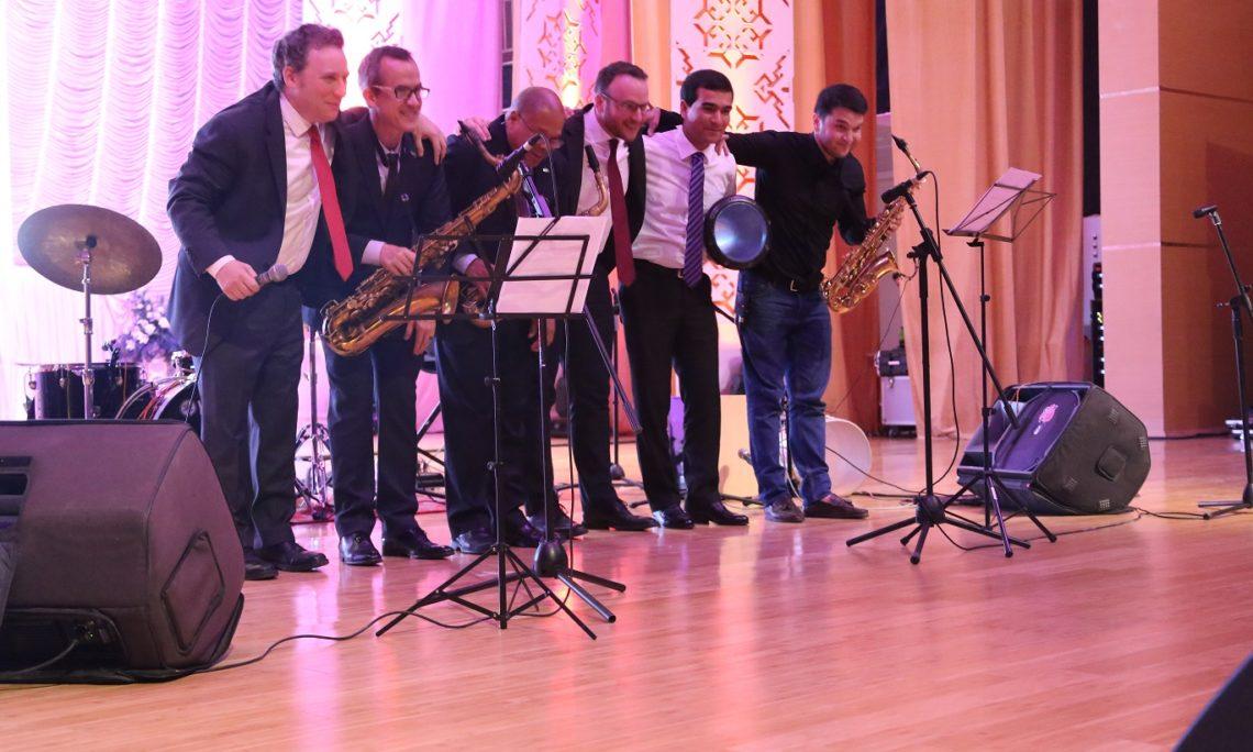 Ari Rolandyň jaz kwarteti Türkmenistanа saparyny tamamlady