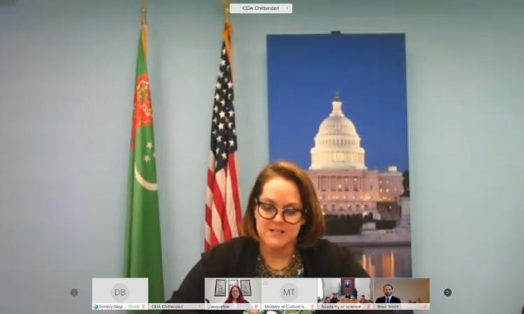 Посольство США поддерживает сотрудничество туркменских и американских организаций по сохранению исторических рукописей