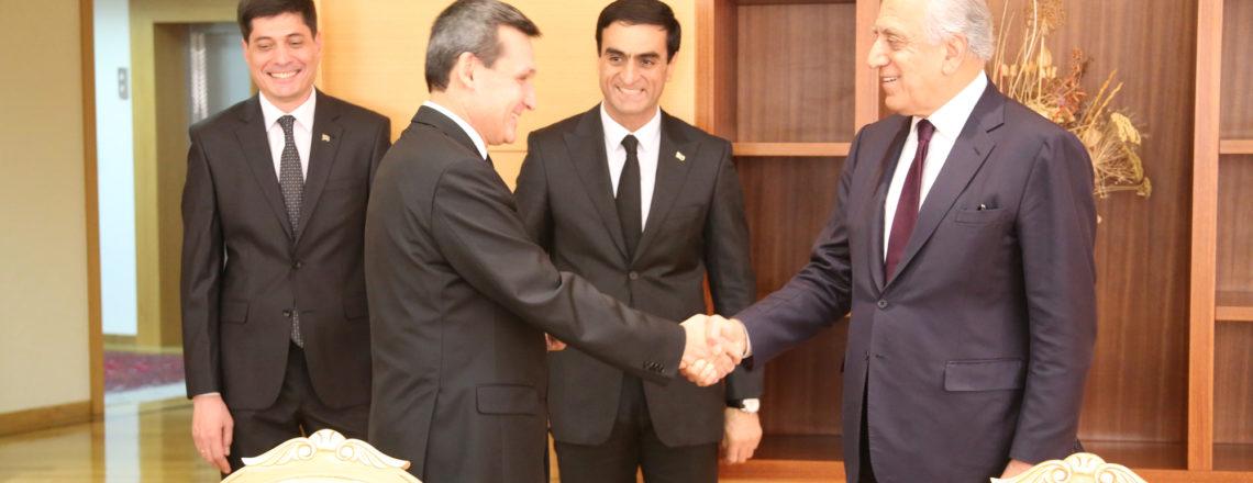 Special Representative Khalilzad Visits Turkmenistan