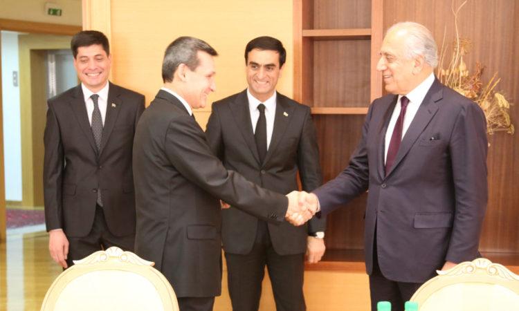 Специальный представитель по афганскому примирению Залмай Халилзад посетил Туркменистан