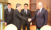 Special Representative for Afghanistan Reconciliation Zalmay Khalilzad Visits Turkmenistan