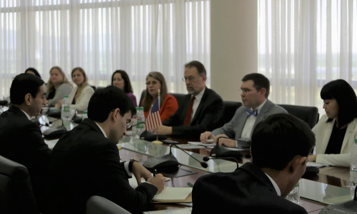 U.S. Delegation Concludes Annual Bilateral Consultations Midterm Review in Ashgabat