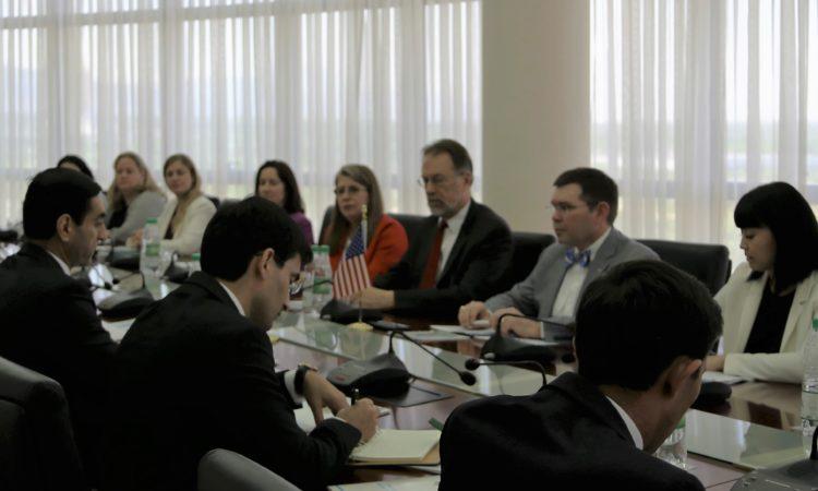 Делегация CША завершила промежуточный обзор Ежегодных двусторонних консультаций в Ашхабаде