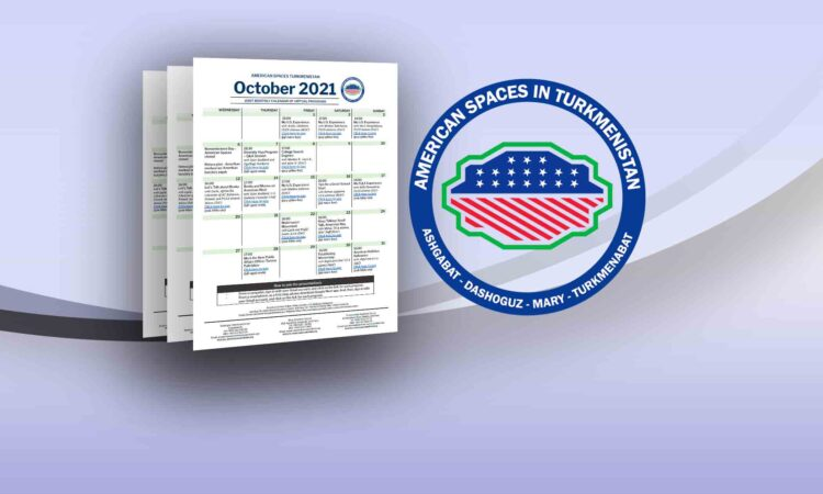 Joint Monthly Calendar of American Center and Corners for Virtual Programs