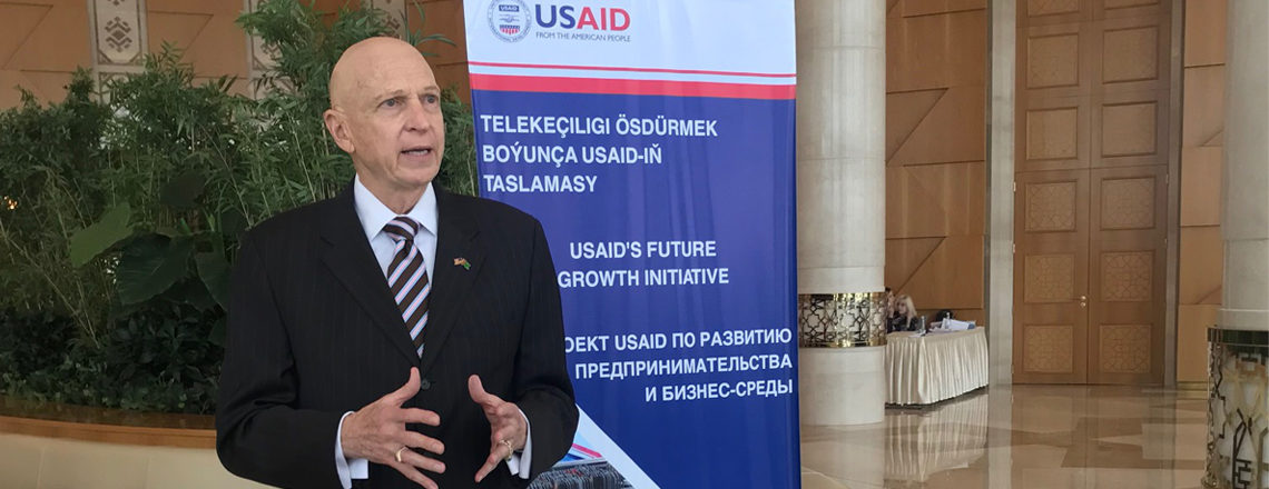 USAID Türkmenistanda