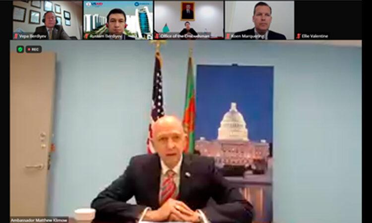 Правительство США делится передовыми практиками о роли Бизнес-Омбудсмена в защите трудовых прав и прав человека в Туркменистане