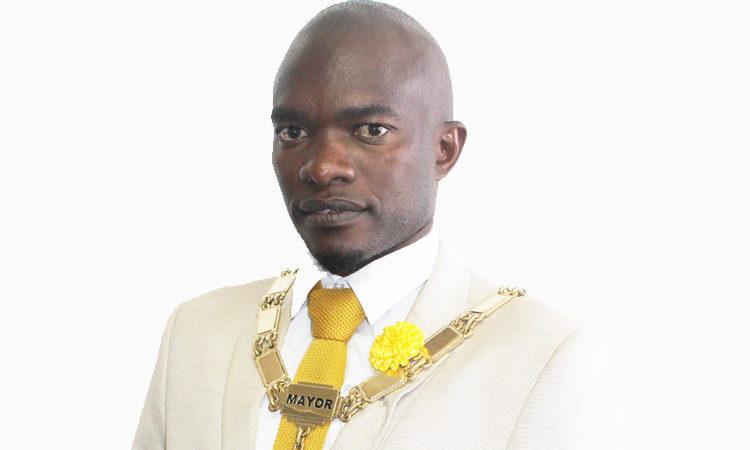 Mayor Kagiso Calvin Thutlwe