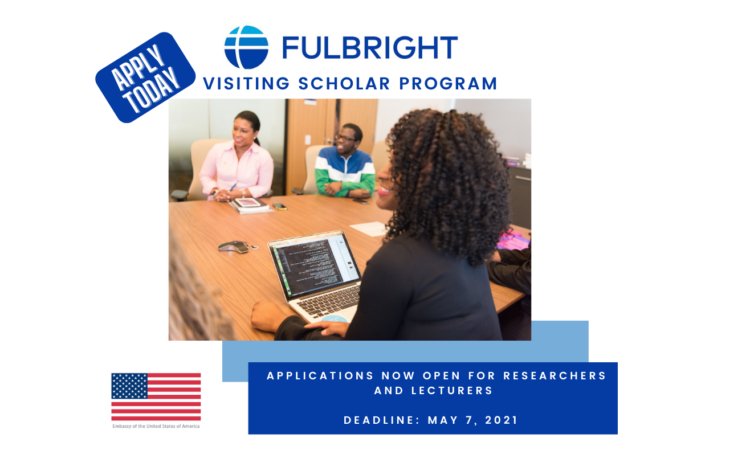 Fulbright Visiting Scholar flyer
