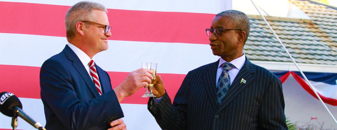Celebrating America's 243rd Birthday