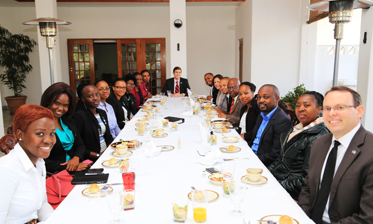 Mandela Washington Fellows Welcome Back Breakfast