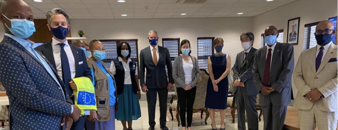 COVAX Vaccine Arrival By Ambassador Craig Cloud