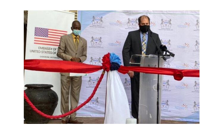 UPI Launch – U.S. Embassy Acting Deputy Chief of Mission David Kryzwda speaking at the launch