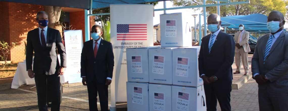 The United States donates 81,900 doses of Pfizer vaccine to Botswana