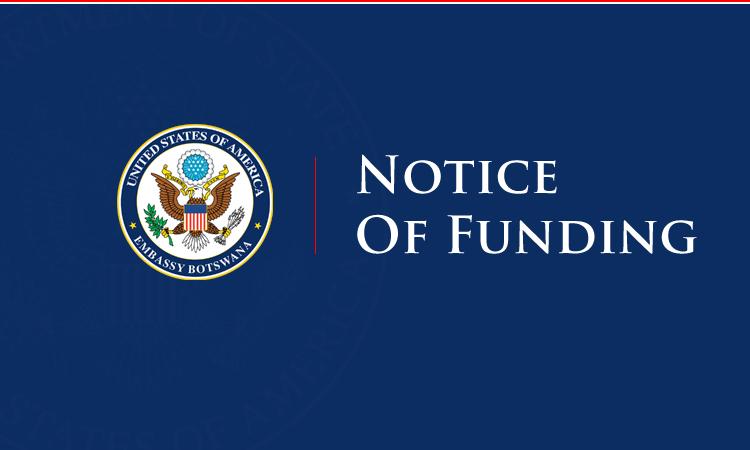 Notice of Funding