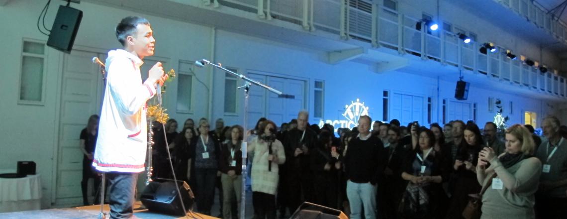 I Sing, You Dance: Arts Envoy Byron Nicholai Visits Iceland