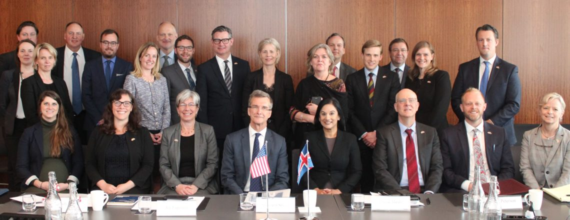 Inaugural U.S.-Iceland Economic Dialogue