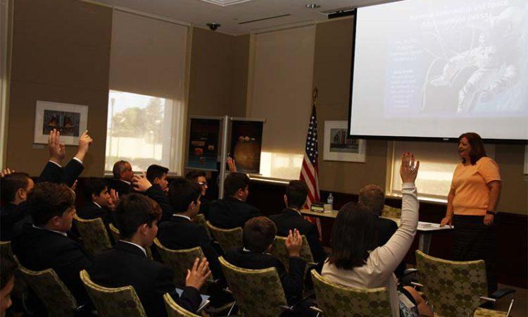 Kids at Embassy