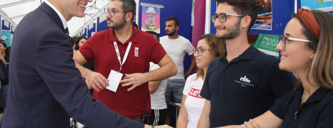 Freshers' Week at the University of Malta