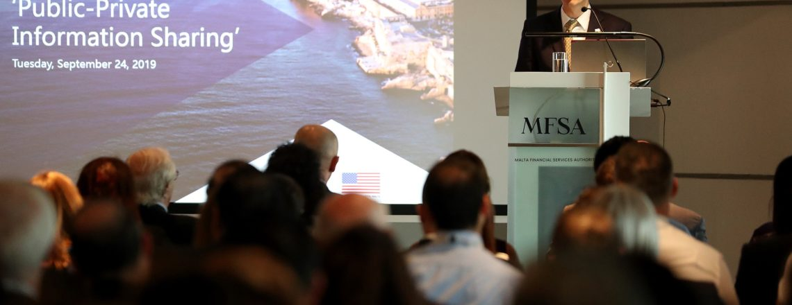 U.S. Embassy Malta and MFSA Co-host the Second Financial Integrity Forum