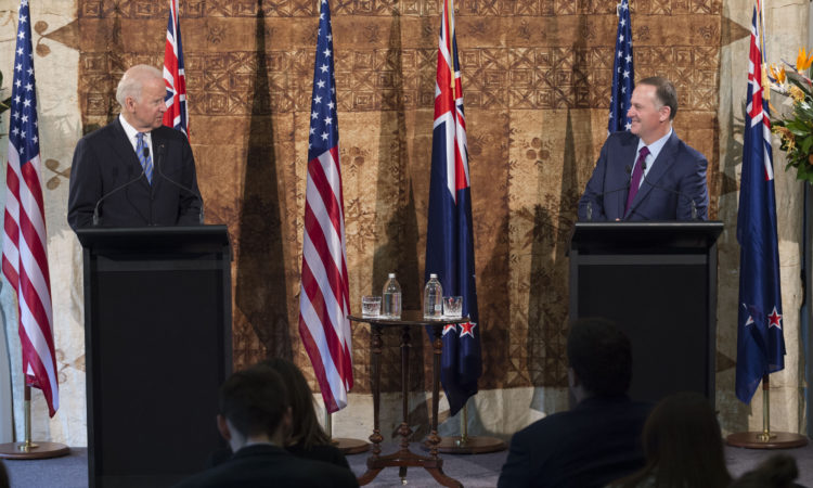 Remarks by Vice President Joe Biden and New Zealand Prime Minister John Key