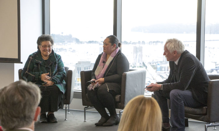 Doctors and patients talk about the impact of U.S. medical technologies in New Zealand. Photo credit: U.S. Department of State.