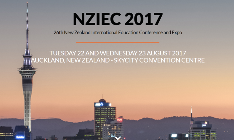 New Zealand International Education Conference. Photo credit: NZIEC.