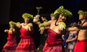 "Hawaiian cultural group ""Island Breeze"" connects with audiences across New Zealand. Photo credit: U.S. Department of State."