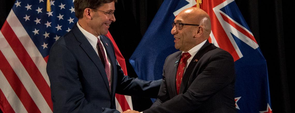 U.S. Secretary of Defense visits New Zealand