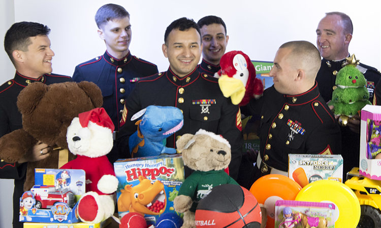 Toys for tots. Photo credit: U.S. Department of State.
