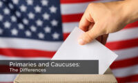 Primaries and Caucuses: The Differences. Photo credit: U.S. Embassy Thailand.