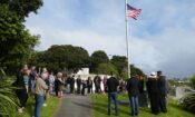 Ambassador Brown attends the Titahi Bay US Memorial Unveiling. Photo credit: U.S. Department of State.