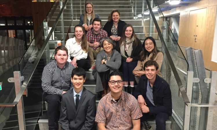 Consul General Katelyn Choe with some of the 2019 Youth Council. Photo credit: U.S. Department of State.